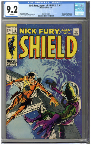 Nick Fury, Agent of SHIELD #11 CGC 9.2