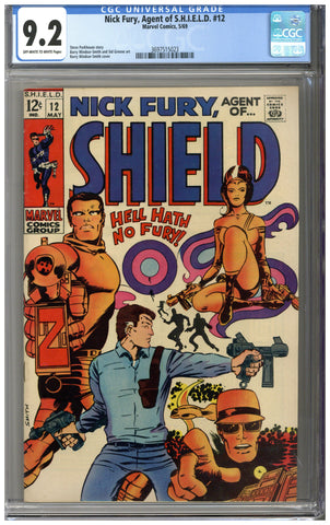Nick Fury, Agent of SHIELD #12 CGC 9.2