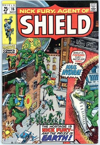 Nick Fury, Agent of SHIELD #16 Fine+
