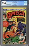 Colorado Comics - Omega the Unknown #1  CGC 9.4