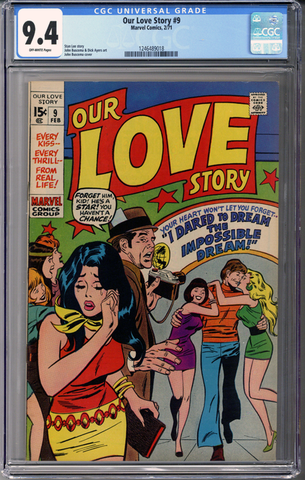 Our Love Story #9 CGC 9.4