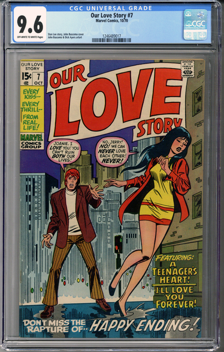 Our Love Story #7 CGC 9.6