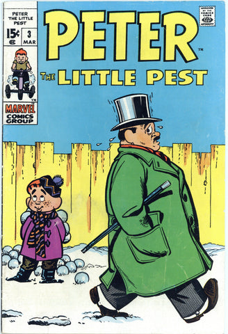 Peter the Little Pest #3 Fine-