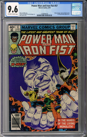 Power Man and Iron Fist #57 CGC 9.6