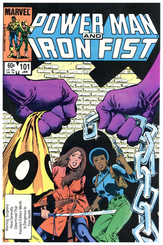 Power Man and Iron Fist #101 thru 114 F to NM+ (5 books total)