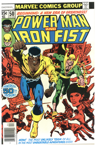 Power Man and Iron Fist #50 VF+