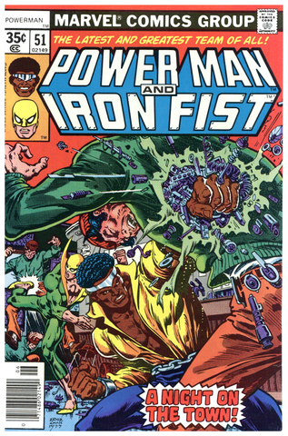 Power Man and Iron Fist #51 VF