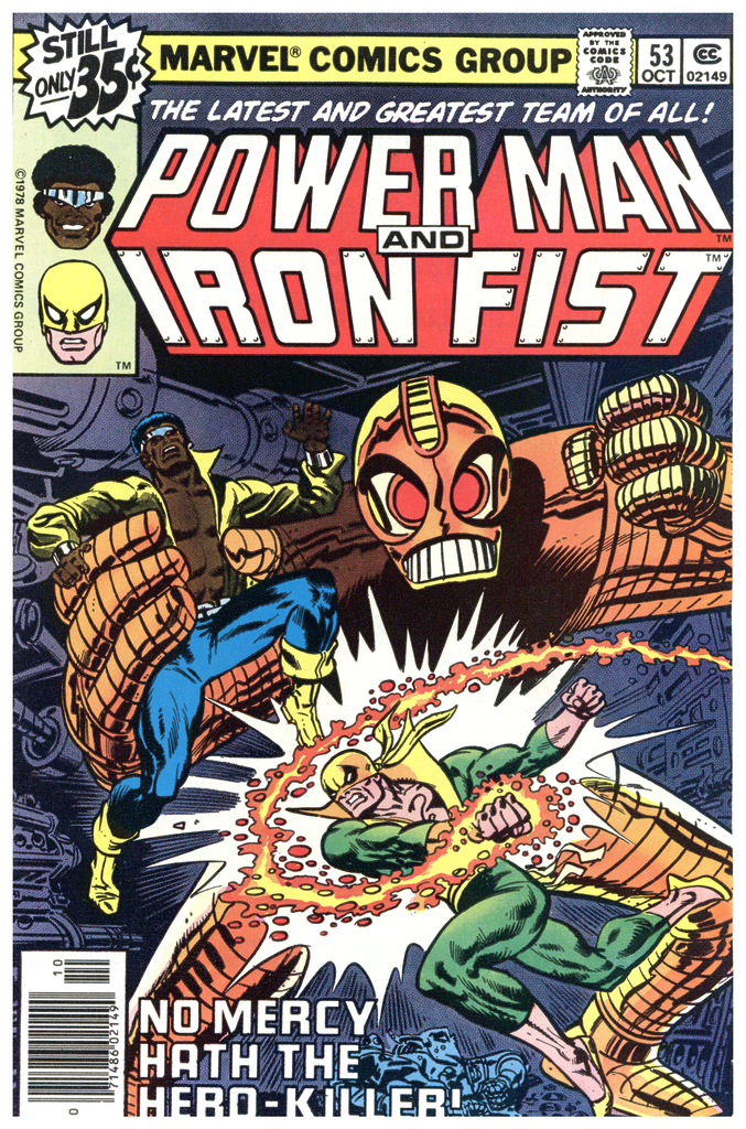 Power Man and Iron Fist #53 NM
