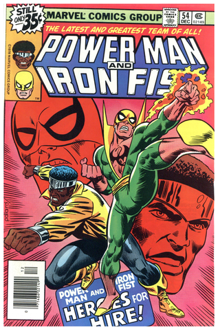 Power Man and Iron Fist #54 NM
