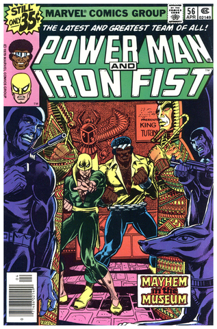 Power Man and Iron Fist #56 NM+