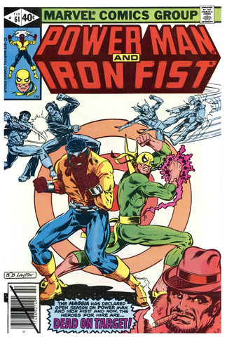 Power Man and Iron Fist #61 NM/MT