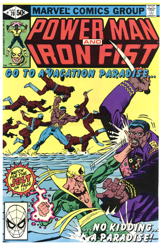 Power Man and Iron Fist #70 NM+