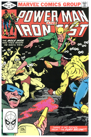 Power Man and Iron Fist #85 NM+