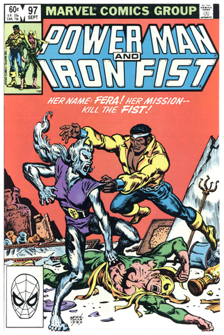 Power Man and Iron Fist #97 NM