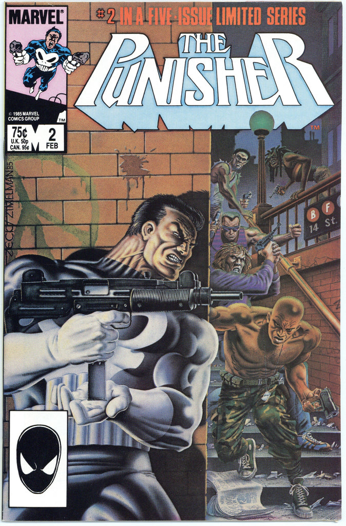 Punisher Limited Series #2 VF/NM
