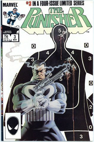 Punisher Limited Series #3 VF-