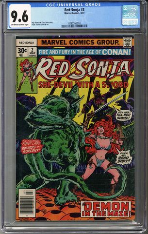 Colorado Comics - Red Sonja #2  CGC 9.6
