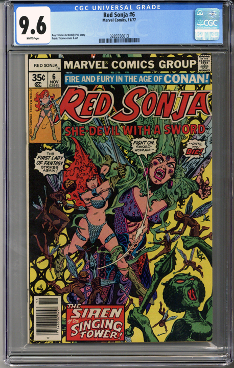 Colorado Comics - Red Sonja #6  CGC 9.6