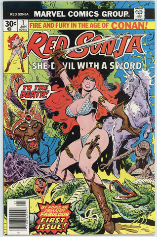 Red Sonja #1 NM-
