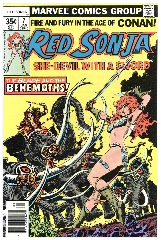 Red Sonja #7 NM+