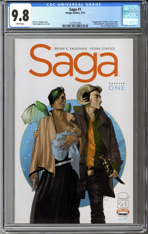 Colorado Comics - Saga #1 CGC 9.8