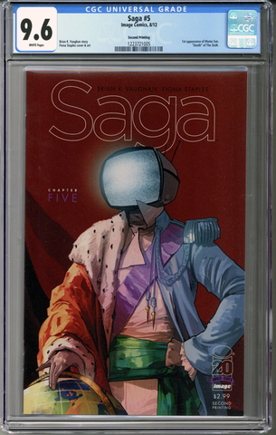 Colorado Comics - Saga #5 CGC 9.6 - second printing