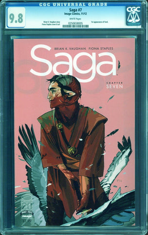 Colorado Comics - Saga #7 CGC 9.8