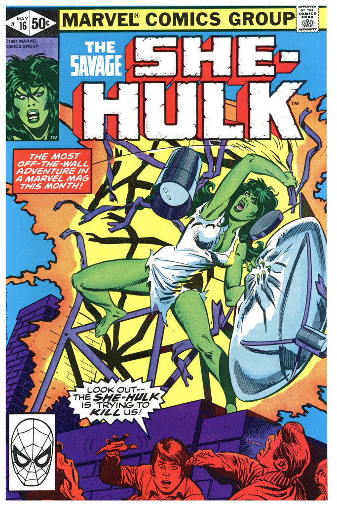 Savage She-Hulk #16 NM