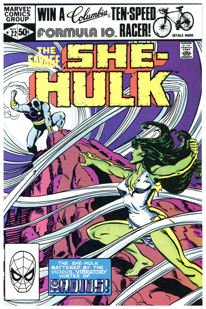 Savage She-Hulk #22 NM