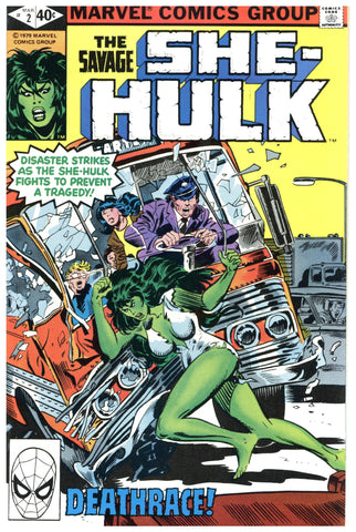 Savage She-Hulk #2 NM