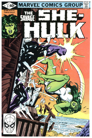 Savage She-Hulk #3 NM+