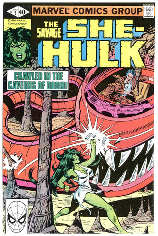 Savage She-Hulk #5 NM/MT