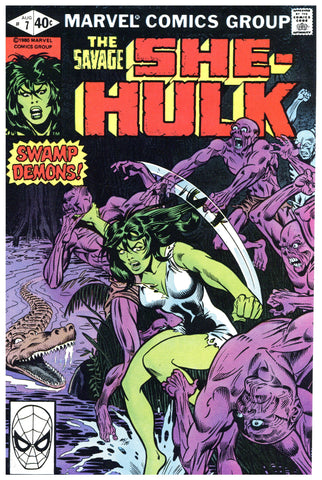 Savage She-Hulk #7 NM+