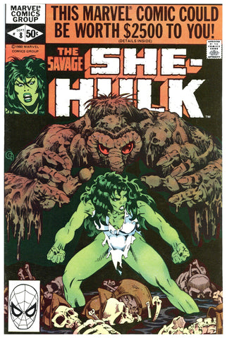 Savage She-Hulk #8 VF+