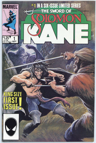 The Sword of Solomon Kane Limited Series #1, 3, 4, 5 NM+ (4 books total)