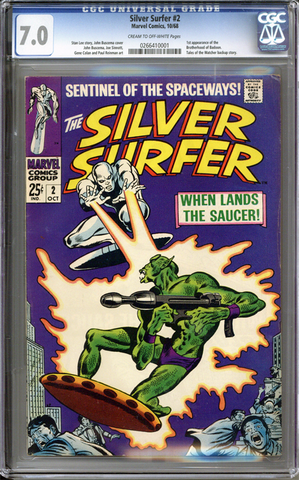 Colorado Comics - Silver Surfer #2  CGC 7.0