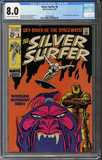 Silver Surfer #6 CGC 8.0