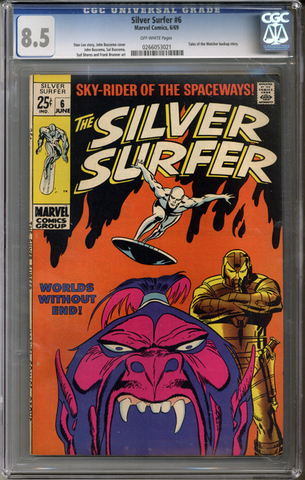 Silver Surfer #6 CGC 8.5