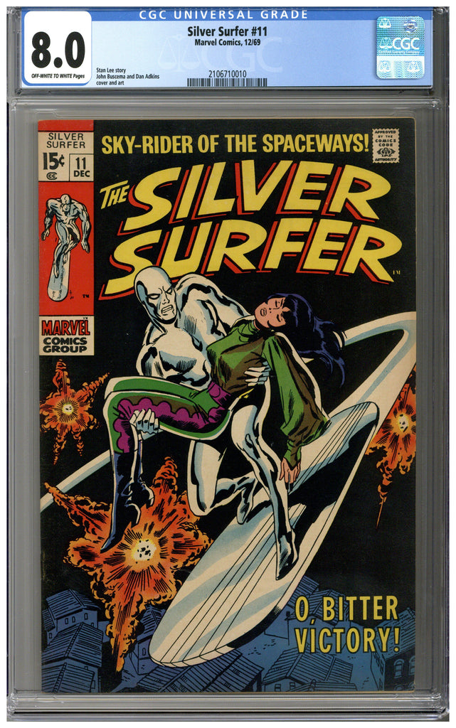 Silver Surfer #11 CGC 8.0