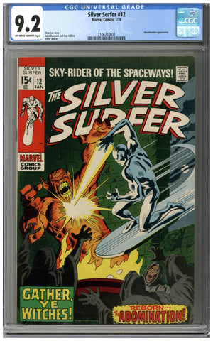 Silver Surfer #12 CGC 9.2