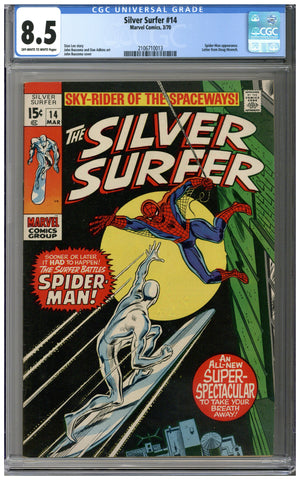 Silver Surfer #14 CGC 8.5