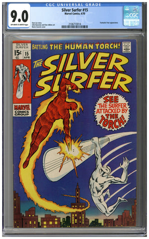Silver Surfer #15 CGC 9.0
