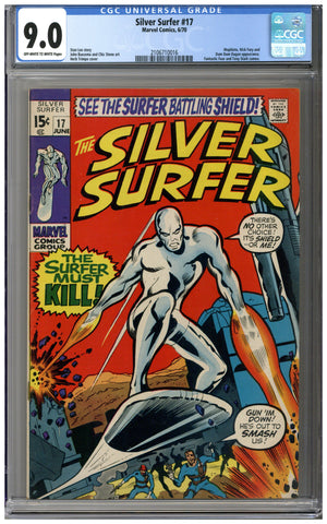 Silver Surfer #17 CGC 9.0