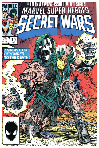 Marvel Super Heroes Secret Wars #10 NM+