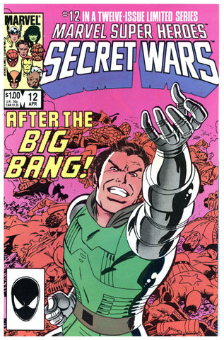 Marvel Super Heroes Secret Wars #12 NM/Mint