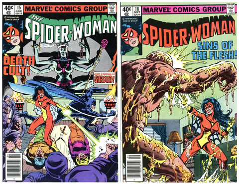 Spider-Woman #15 thru 30 VF to NM (8 books total)