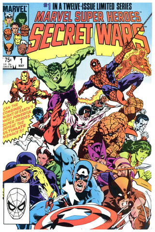 Marvel Super Heroes Secret Wars #1 VF/NM