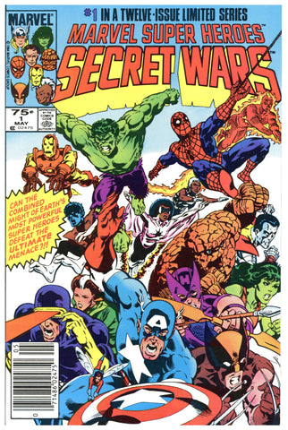 Marvel Super Heroes Secret Wars #1 NM