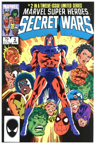 Marvel Super Heroes Secret Wars #2 NM-