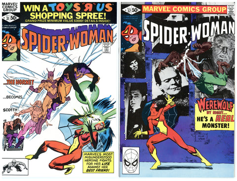 Spider-Woman #31 thru 41 NM (8 books total)